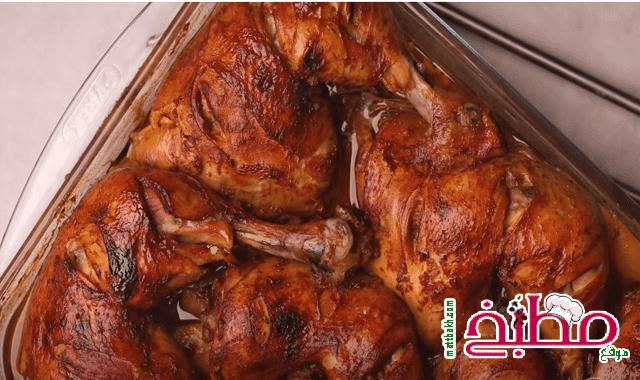 صنية اوراك الدجاج بالبطاطس هبة ابو الخير