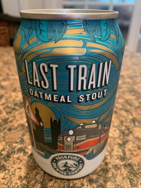 Last Train Oatmeal Stout