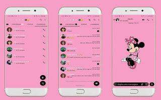 Minnie Theme For YOWhatsApp & Fouad WhatsApp By Leidiane
