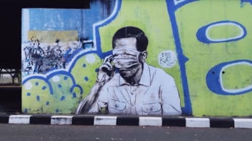 Pengamat Politik: Aksi Seni Mural Harus Dimaknai Sebagai Kritik Sosial