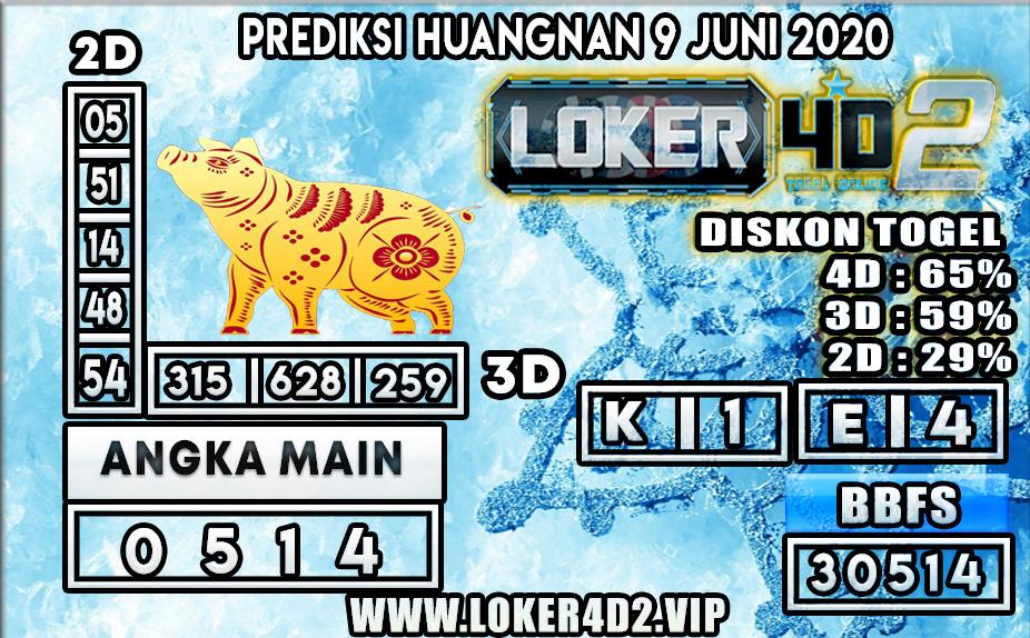 PREDIKSI TOGEL HUANGNAN LOKER4D2 09 JUNI 2020
