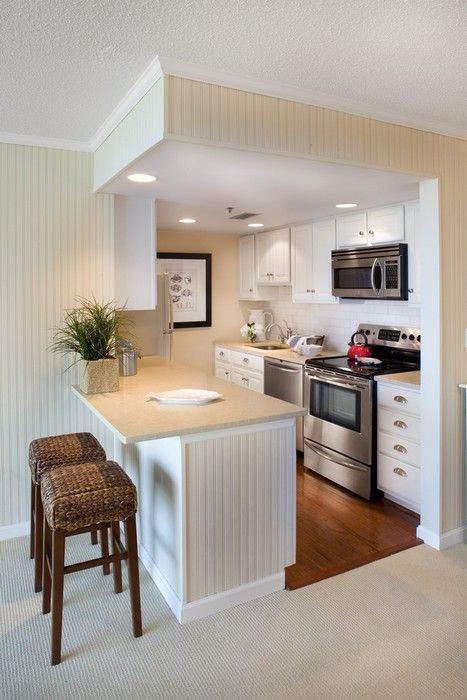 Dapur sempit terlihat lapang