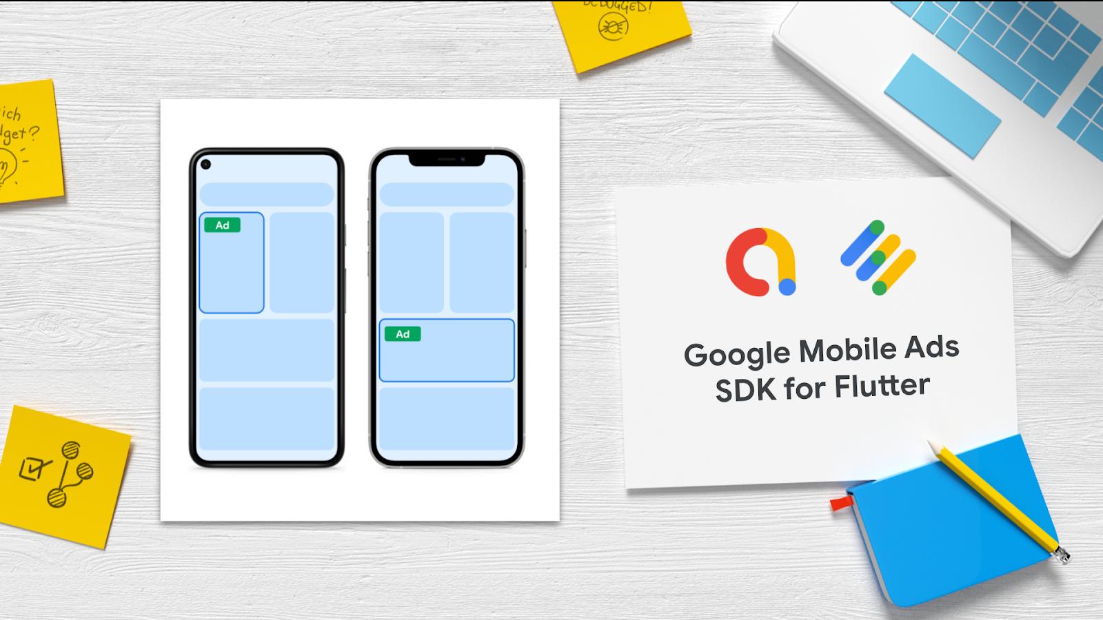 Google Mobile Ads SDK for Flutter