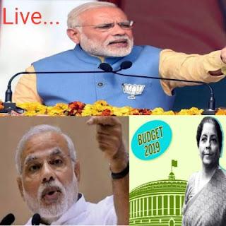 pm modi today speech , pm modi live