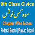 9th Class CIVICS Chapter Wise Notes