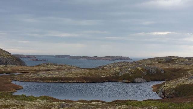 Iles de l'archipel Sainte-Marie au large d'Unamen Shipu en Basse-Côte-Nord