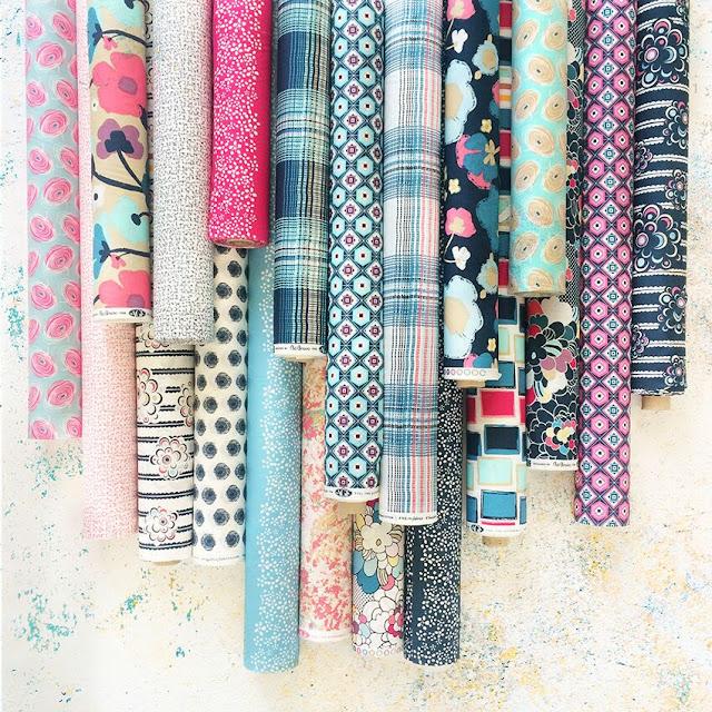Pat Bravo Dare fabrics