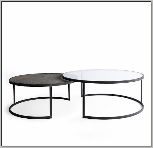 Round Nest Of Coffee Tables
