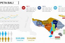 Peta Bali PPTX (Powerpoint)