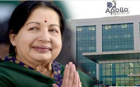 Tamil Nadu CM Jayalalithaa underwent a ANJIYO surgery