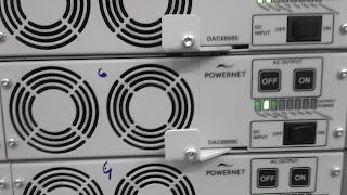 Не горят светодиоды Powernet DAC60000