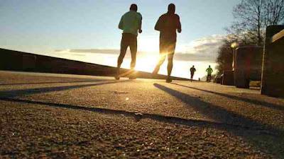 الجري والتمارين الرياضية