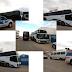 Ponto Novo: PM, Guarda Municipal e Vigilância Sanitária realizam apreensão de ônibus e van que faziam transporte de passageiros de SP e MG