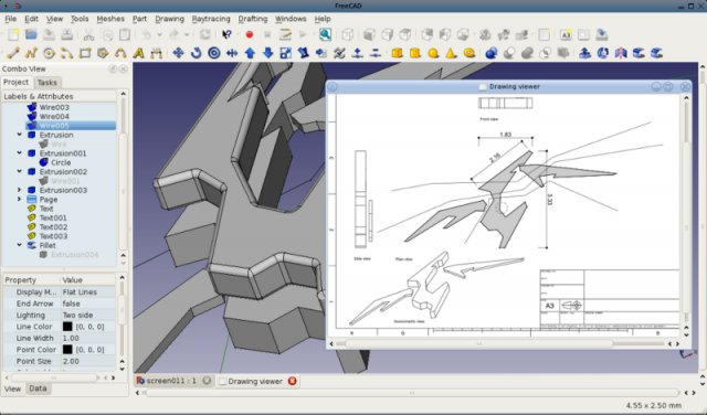 8 best cad apps for linux updated for Online cad drawing software