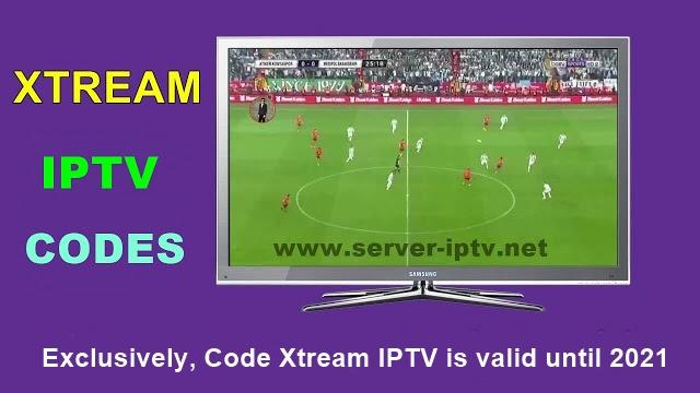 Exclusively, Code Xtream IPTV is valid until 2021
