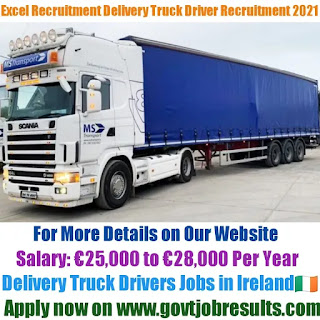 Excel Recruitment Delivery Truck Driver Recruitment 2021-22