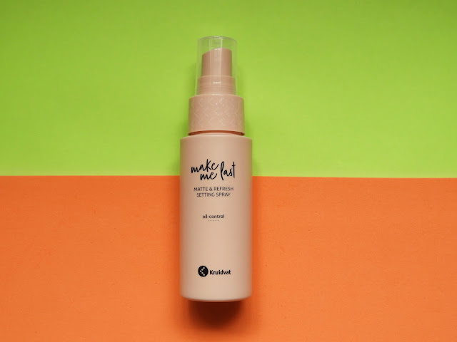 Kruidvat make-up concealer, setting spray & blush review