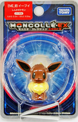 Eevee Pokemon figure Takara Tomy Monster Collection MONCOLLE EX EMC series