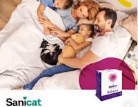 Logo Sanicat: gioca e vinci gratis un pack di lettiere! Solo per oggi