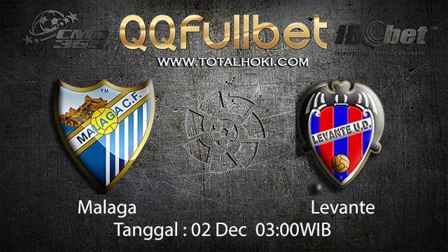 PREDIKSI BOLA ~ PREDIKSI TARUHAN BOLA MALAGA  VS LEVANTE 02 DESEMBER 2017 (Spanish La Liga)
