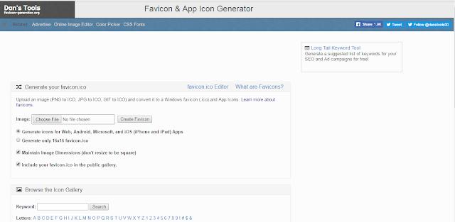 Favicon Blog Online