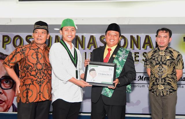 Kang UU Rizhanul Ulum Hadiri Diesnatalis HMI Bekasi