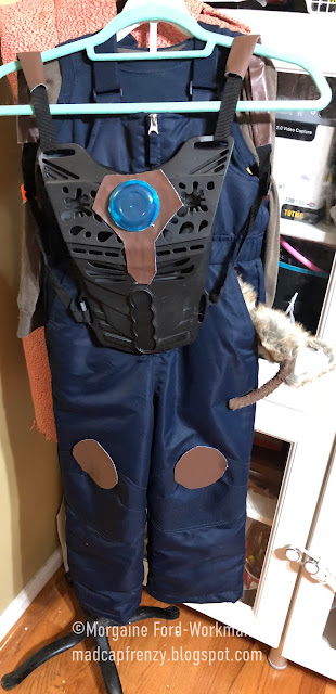 madcap frenzy Guardians of the Galaxy Rocket Toddler Costume