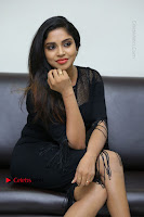 Telugu Actress Karunya Chowdary Latest Stills in Black Short Dress at Edo Prema Lokam Audio Launch .COM 0216.JPG