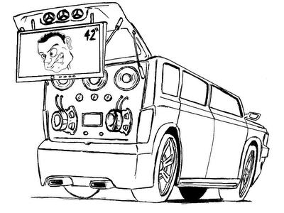 50 Desenhos de Carros para Colorir/Pintar! - colorindo.org
