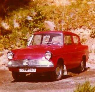 My Ford Anglia 1964