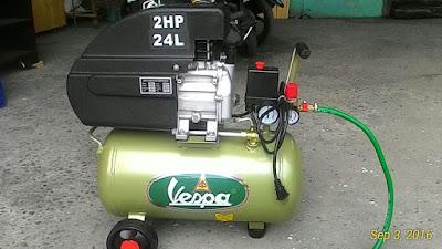 Vespa Air Compressor Review
