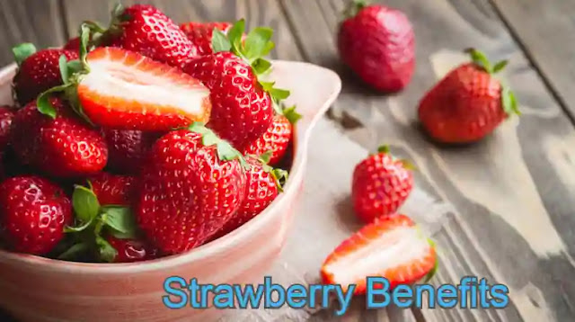 Health benefits of strawberry for skin