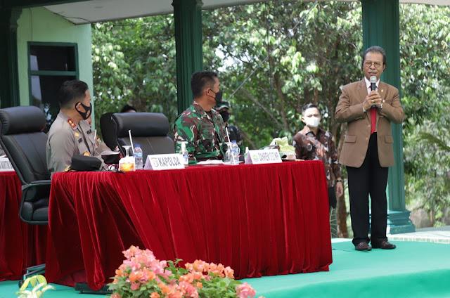 Jumaga Beri Pembekalan ke Prajurit Raider Khusus 136/TS Yang Akan Ditugaskan ke Perbatasan Papua