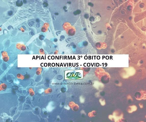 Apiaí confirma terceiro óbito por Coronavirus - Covid-19