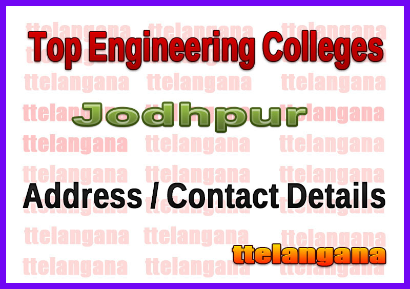Top Engineering Colleges in Jodhpur