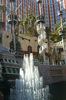 treasure island's pirate ship