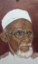 Lukisan Abu Tumin untuk Bantu Korban Gempa