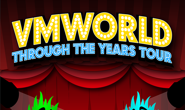 VMworld: Through the Years Tour 2004-2019
