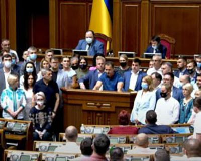 Антиукраїнський виступ нардепа з ОПЗЖ розлютив фракції і групи. Вимагають слідчих дій