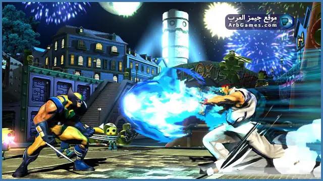 تحميل لعبة مارفل ضد كابكوم 3 للكمبيوتر برابط مباشر مضغوطة