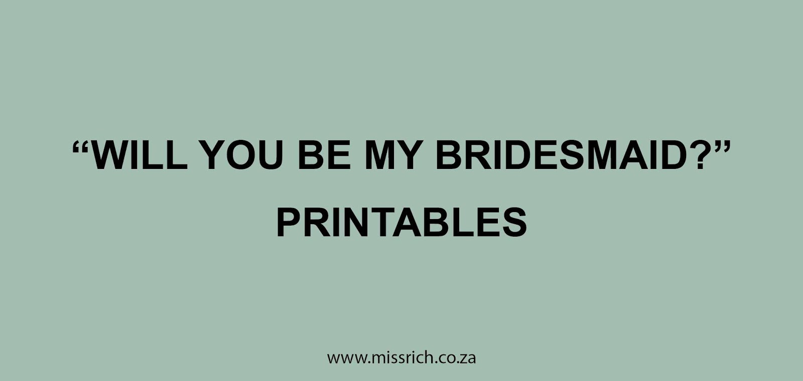photo relating to Will You Be My Bridesmaid Printable identified as WILL On your own BE MY BRIDESMAID?\u201d PRINTABLES - Overlook Prosperous