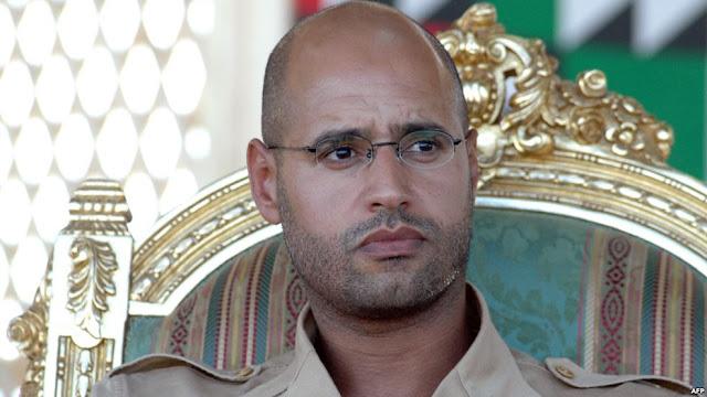 المجلس العسكري لثوار الرنتان ينشر نقل سيف الإسلام القذافى لمقر مجهول