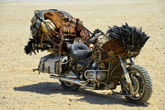 Motorcycle from Mad Max 14
