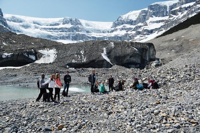 Stutfield Glacier, Jasper National Park, Alberta, Canada