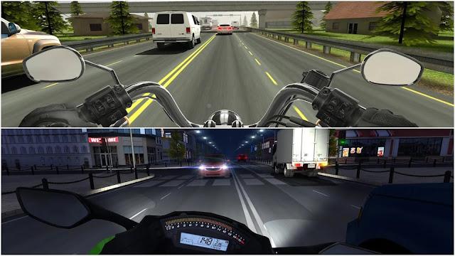 4. Traffic Rider (Motorcycle Wala Game)