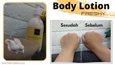 Body Lotion Freshy