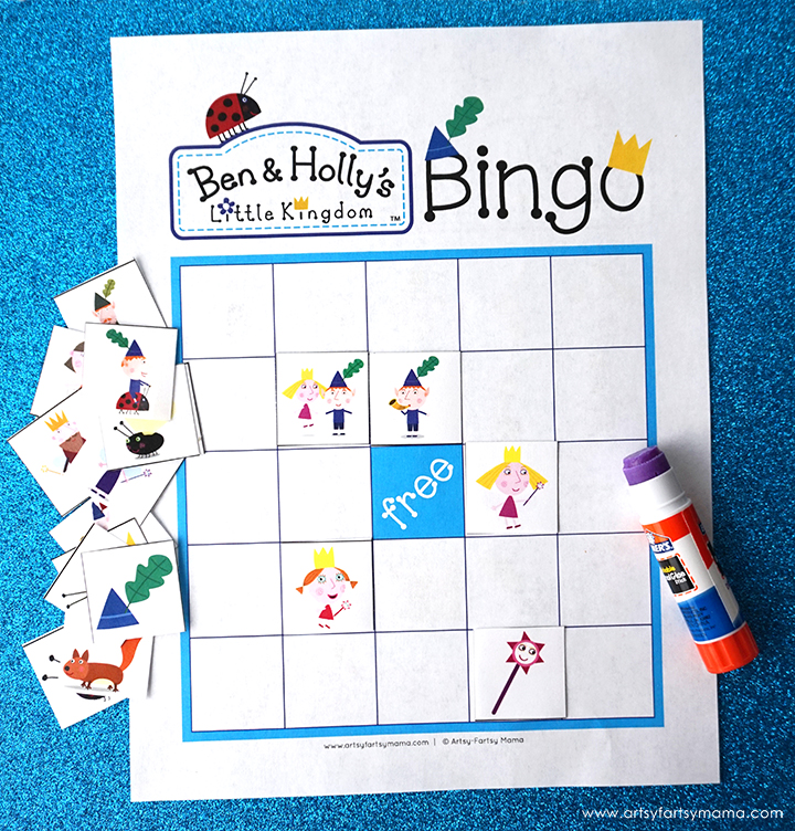 Download and print Free Printable Ben & Holly's Little Kingdom Bingo to play with friends!