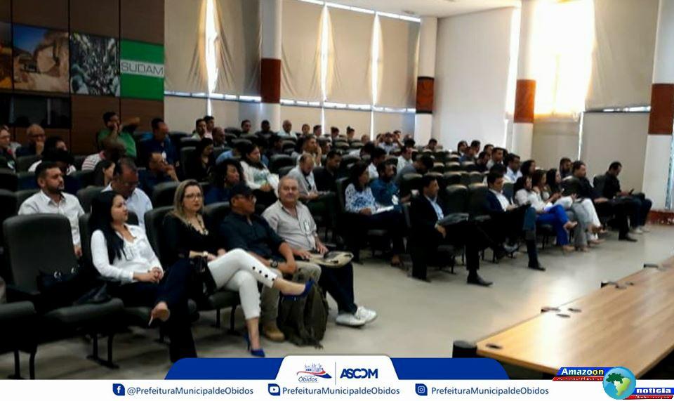 Comitê gestor do programa municípios verdes, debate desmatamento no Pará.