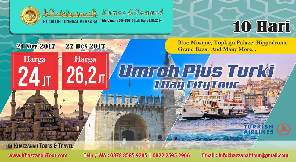 Khazzanah Tours Umroh Free Citytour Turki