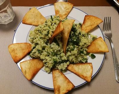 Recepta d'Amanida d'arròs i guacamole